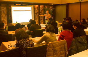 CVCFO and Censere Held a Training Seminar in Shanghai